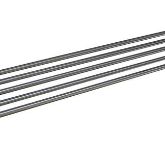 Stainless Steel Restaurant Pipe Wall Shelf, 1800 X 300mm deep-0