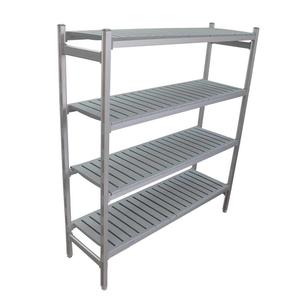 Complete Bay for 1225 x 450 deep x 1700mm high Premium Coolroom Shelving