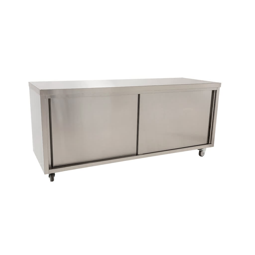 Stainless Restaurant Cabinet, 2000 x 700 x 900mm high
