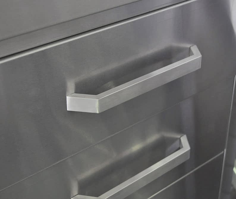 Stainless Steel Kitchen Cabinets drawers