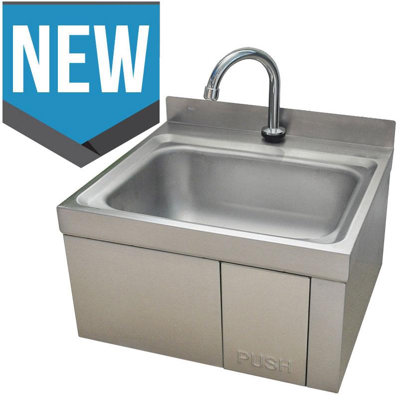 Knee Operated Sink Handbasin