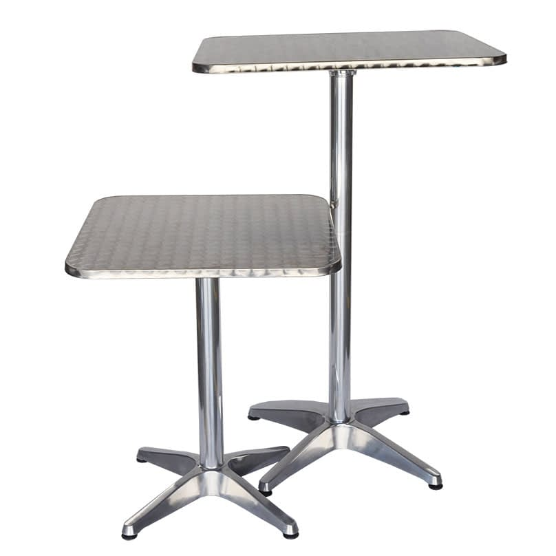 Miguel Folding Dining or Bar Height Table, 60 x 60cm