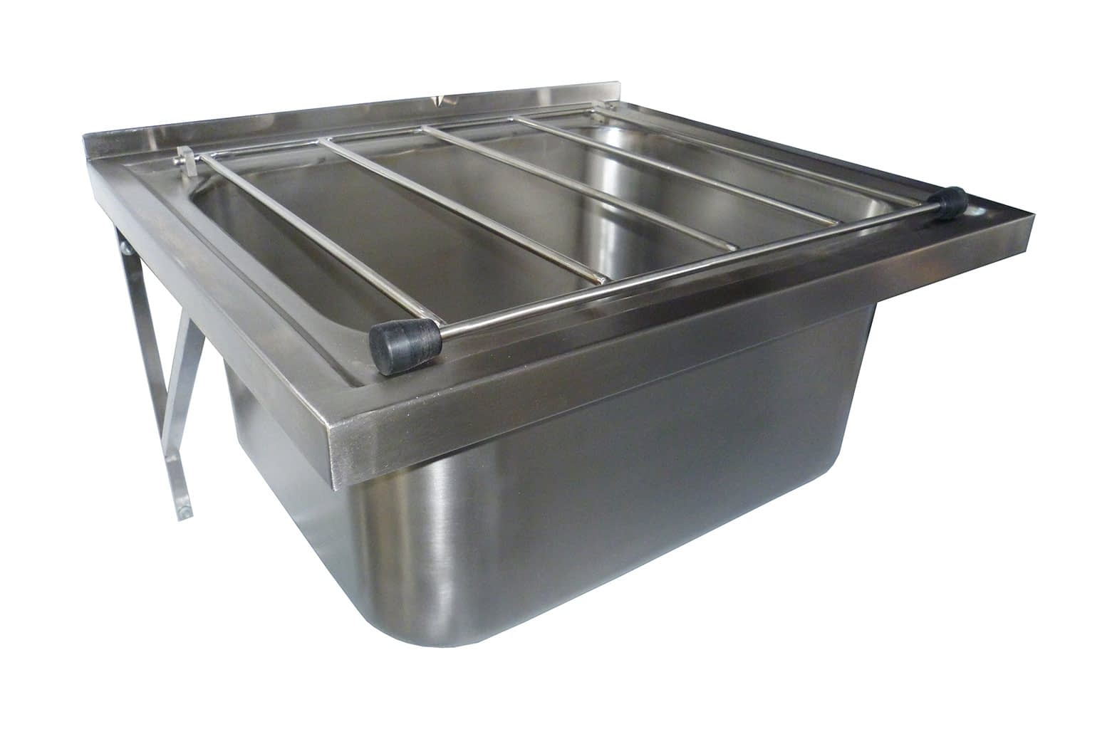 Stainless Steel Commercial Kitchen Wall Mounted Mop Sink