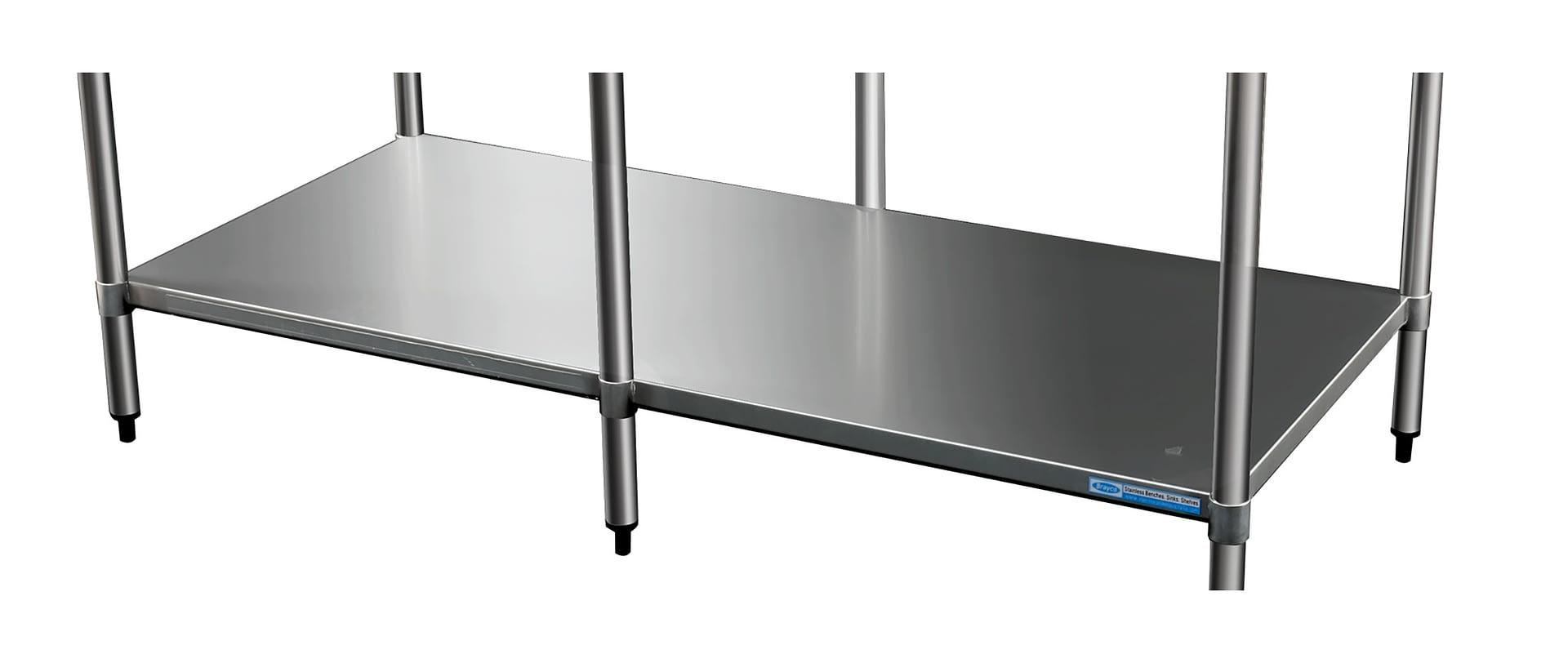 Stainless Undershelf for 2484 Bench