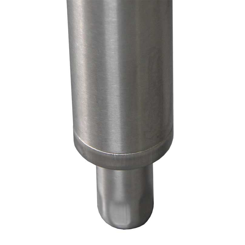 2 High Grade Stainless Legs, with adjustable feet