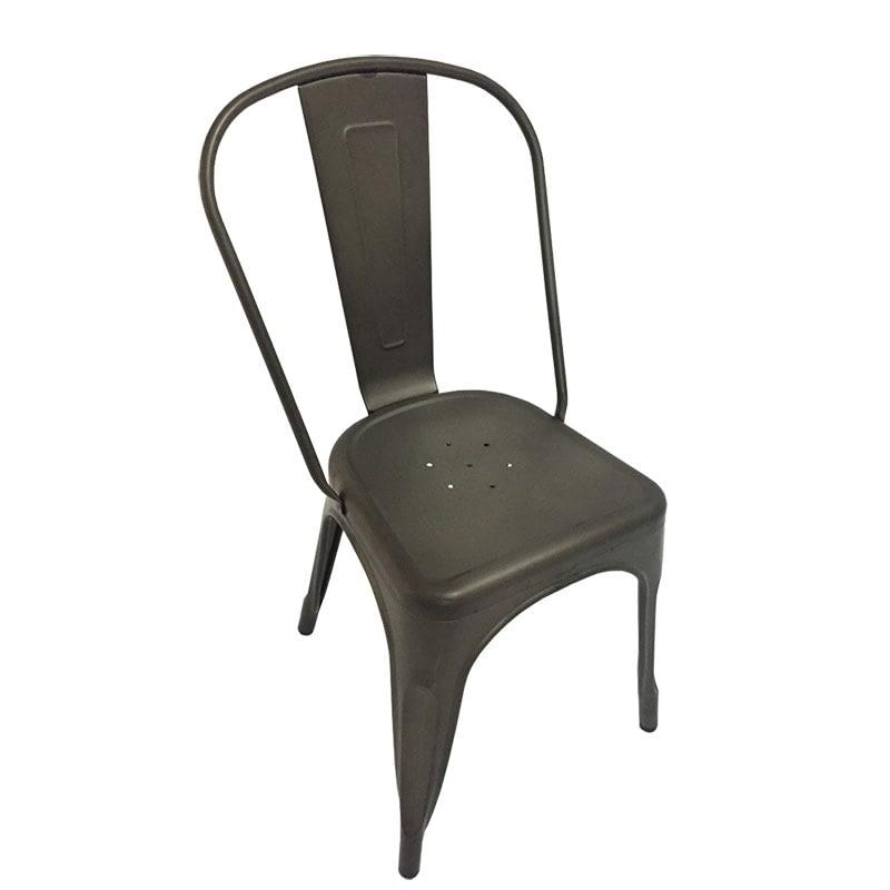 Replica Xavier Pauchard Tolix Chair, Rust