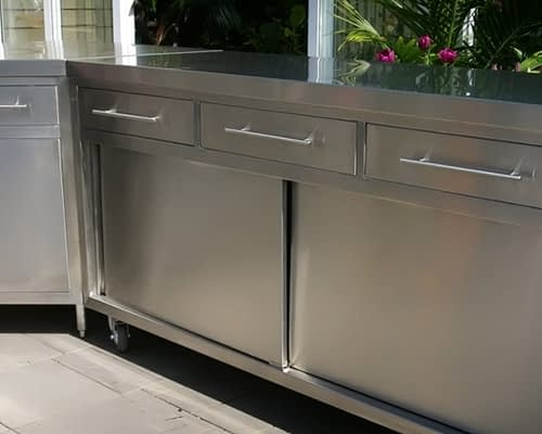 Stainless Steel Cabinets | Brayco - Stainless Steel Cupboard