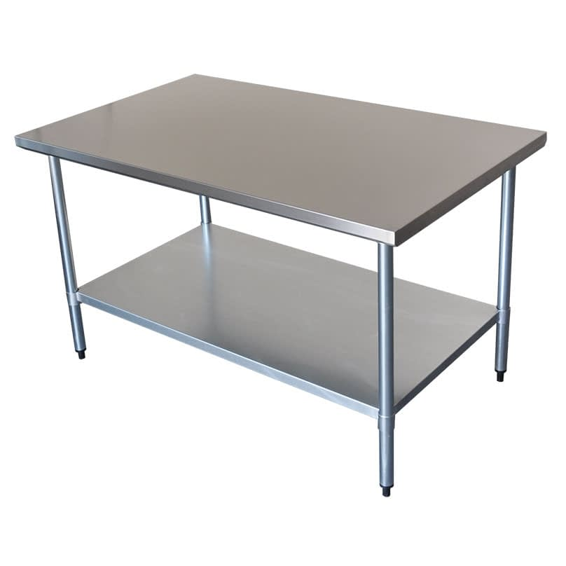 Commercial Grade Stainless Steel Wide Bench, 1524 x 914 x 900mm high