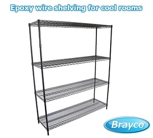 Epoxy Wire Shelving For Cool Rooms