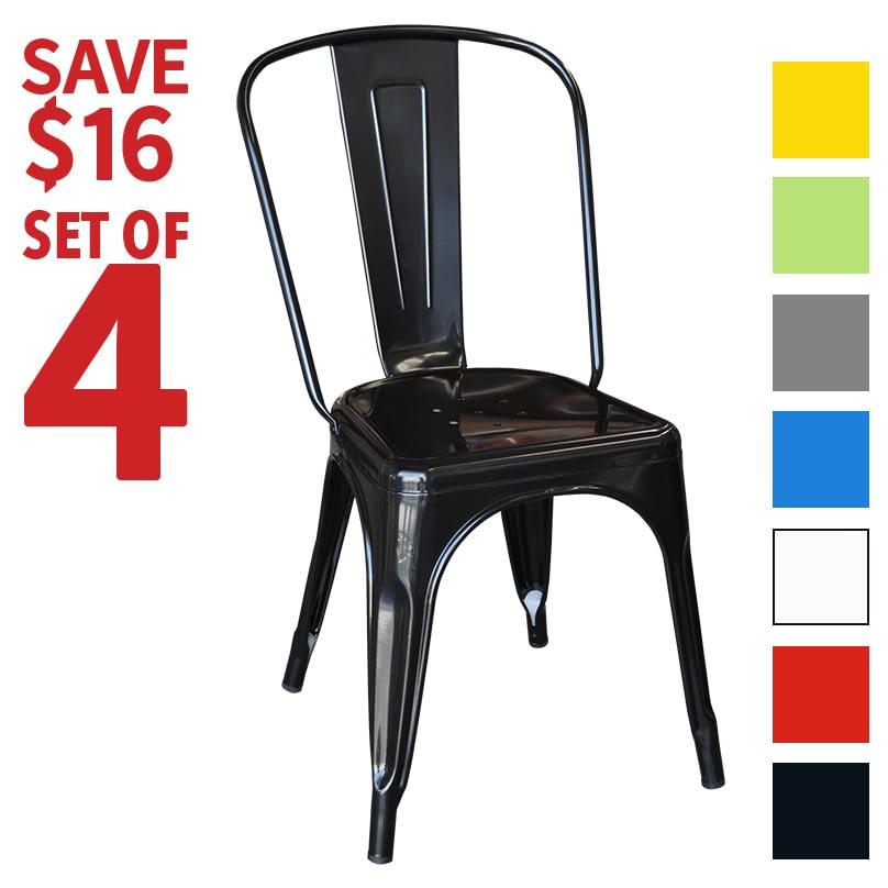 Set of 4 Replica Replica Xavier Pauchard Tolix Chairs