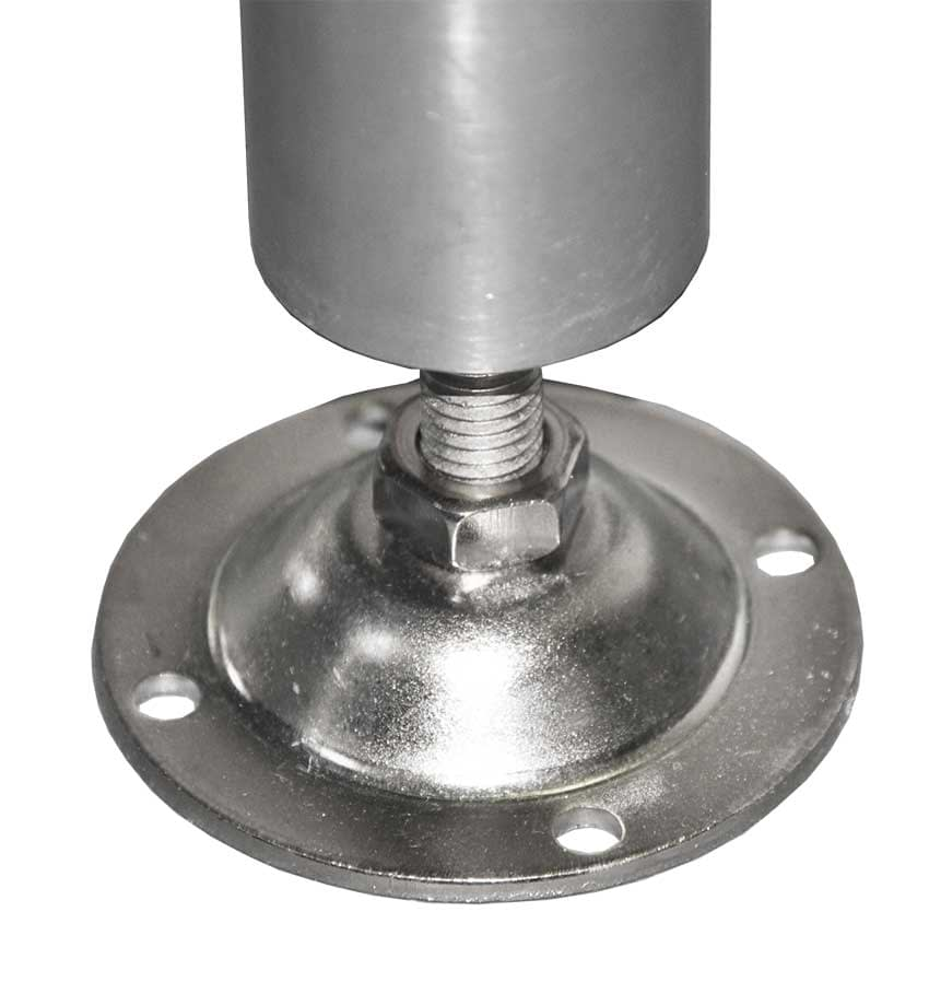 2 Screw Down Feet with Stainless Legs