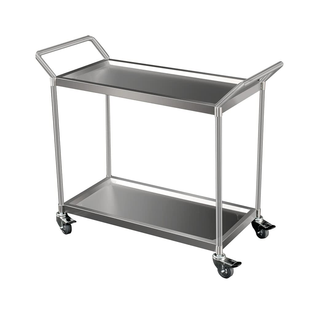 Heavy Duty Stainless Catering Trolley