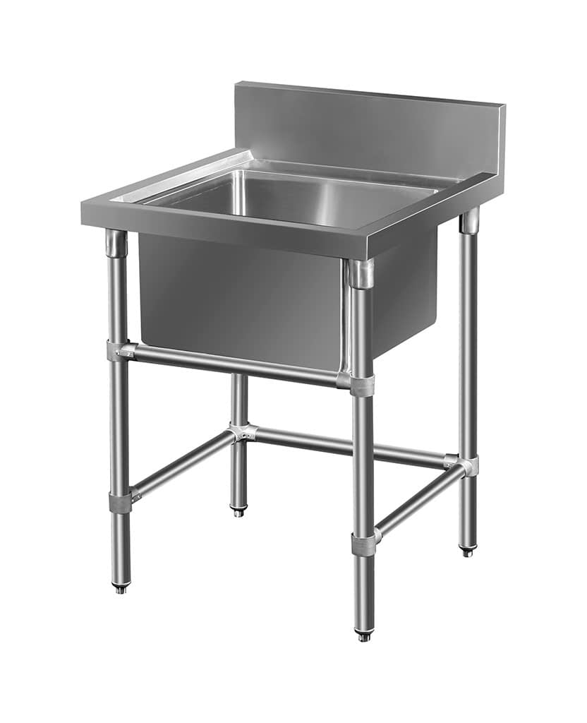 Stainless Restaurant Sink, 665 x 700 x 900mm high