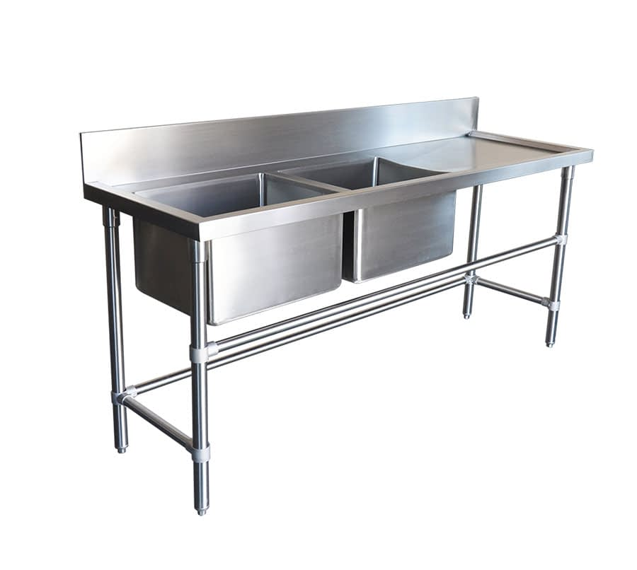 stainless sinks 610mm