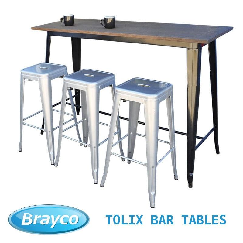 tolix bar tables