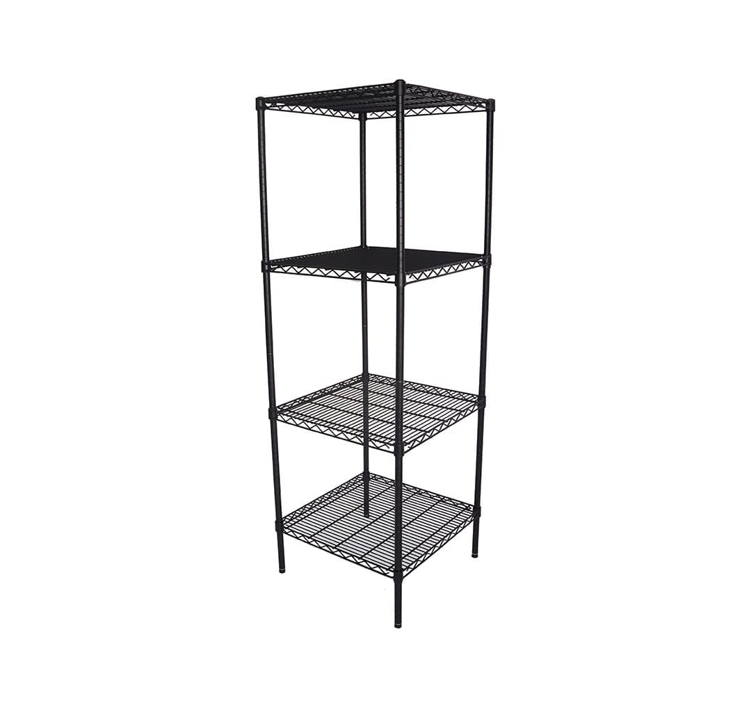 Epoxy Wire Shelving For Coolroom/Dry Store, 4 Tier, 610 X 610 deep x 1800mm high